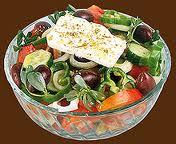 Классический традиционный греческий салат